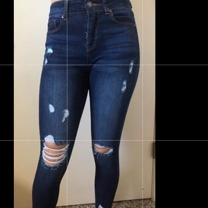 Denim - High wasted Jeans